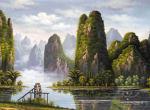 山水的绘画步骤是怎么样的    初学者如何学好山水国画