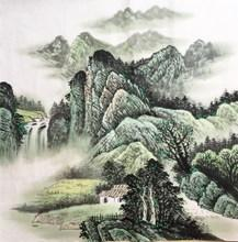 初学者如何画好国画山水画    国画山水画的绘画技巧