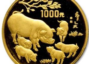 1995猪年金银币投资价值怎么样?值不值得收藏?
