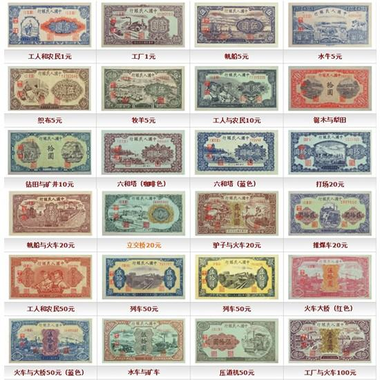 <a href='http://www.ysfu.cn/art-1975-pro.htm' target='_blank'>第一套人民币价格</a>是多少   哪些币种比较值得收藏