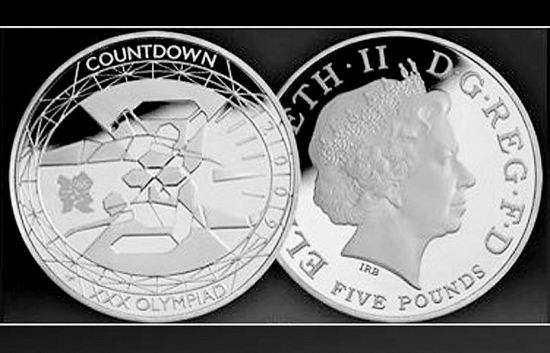 2012年伦敦奥运纪念币价格查询:伦敦奥运纪念币多少钱?