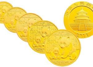 2012年熊猫金币价格是多少?附2012年熊猫金币高清图片