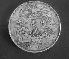 宣统三年大清银币曲须龙价值上百万?来看看就清楚了!