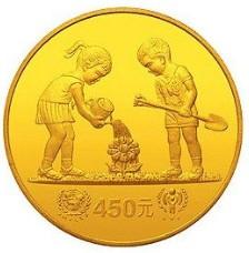 儿童年纪念金币发行背景介绍,儿童年纪念金币收藏价值分析