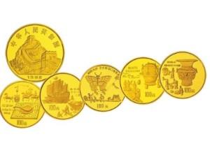 中国古代科技发明(第1组)1盎司金币收藏价值高,值得收藏
