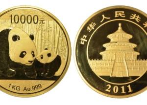 2011年熊猫金币升值空间大不大?有没有收藏潜力?