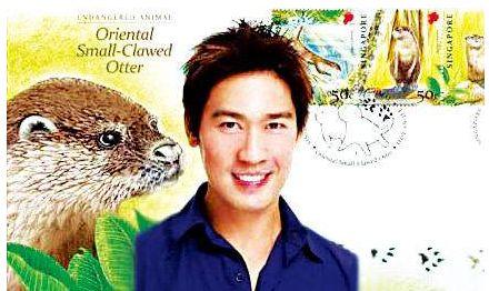 设计水獭邮票的艺人——陈之财   水獭邮票创作灵感来源