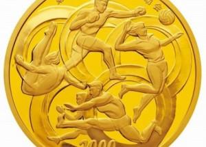 2008奥运会金银纪念币收藏价值大,价格上涨速度快