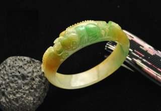黄加绿翡翠手镯价格  黄加绿翡翠手镯适合收藏投资吗