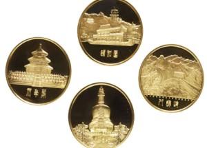 北京风景名胜纪念金章设计精美,受到市场藏家追捧