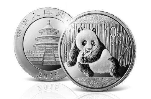 2015熊猫银币价格上涨惊人,受到众多藏家关注
