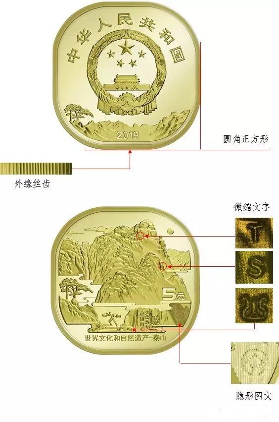泰山普通纪念币防伪标志在哪里?千万别被骗了!