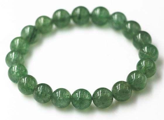 绿水晶手串代表什么含义 绿水晶手串的寓意是什么