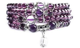 紫晶手串有什么寓意 紫晶手串保养方法