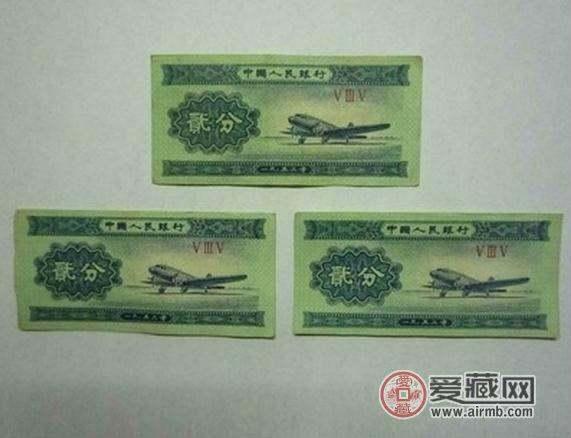 1953年贰分纸币值多少钱  1953年贰分纸币价格