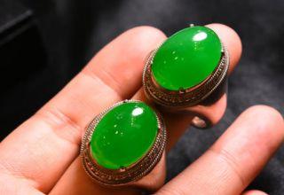 绿翡翠戒指 绿翡翠戒指价格及图片