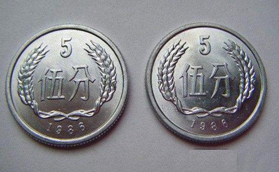 1986年伍分硬币值多少钱   1986年伍分硬币值得收藏吗?