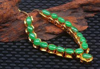翡翠项链一般多少颗 翡翠项链多少颗珠子最好