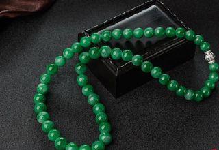 翡翠珠子项链价格 翡翠珠子项链多少钱一条