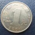 2001年一元硬币值多少钱   2001年一元硬币市场价值