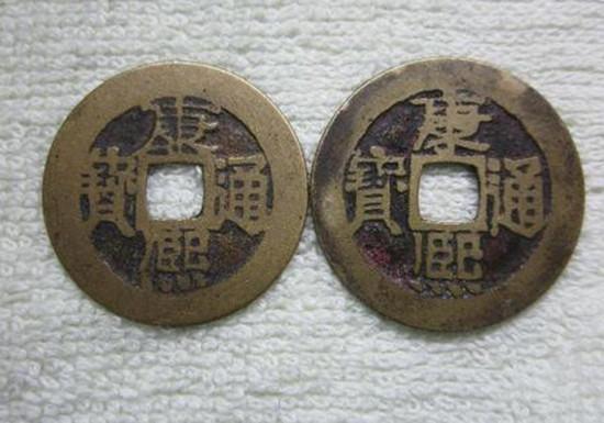 一个康熙通宝的铜钱值多少钱  康熙通宝铜钱价格
