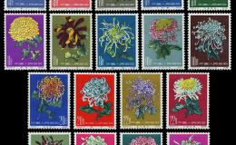 特44菊花邮票值多少钱  特44菊花邮票价值