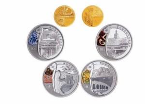 奥运金银币大全套价格   奥运金银币大全套价值