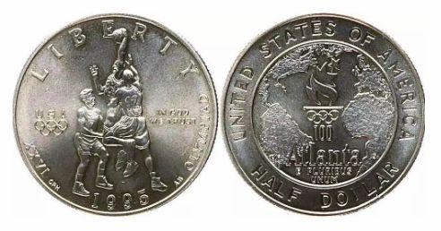 1996年奥运金银币价格值多少钱及图片