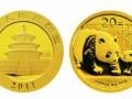 2011年熊猫金币回收价格一套值多少钱