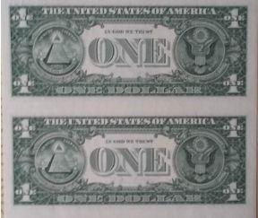 美元连体钞价格表 美元连体钞价值分析