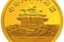 婴戏图金银纪念币5盎司圆形金质纪念币