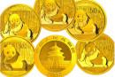 熊貓金幣5枚套裝回收價格 熊貓金幣最新價格表