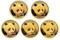 2018年熊猫金银币套装价格