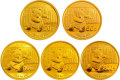 2014年熊猫金银币套装价格