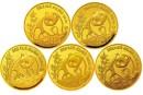 1992年熊猫金银币套装价格