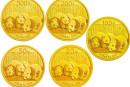 2013版熊貓金銀紀念幣價格