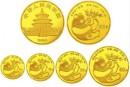 1984年熊貓金銀幣套裝價格