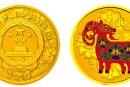 2015年5盎司生肖羊金币的价格