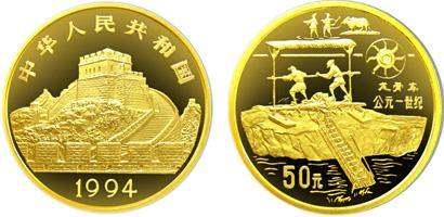 龙骨车金币价格及图片