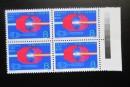 T145北京正负电子对撞机邮票 四方联价格图片