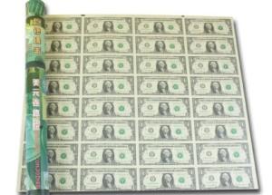 1美元32连体钞整版 1美元整版钞价格