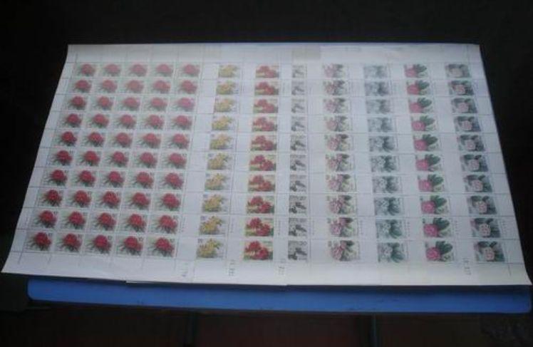 T162杜鵑花郵票 T162杜鵑花整版票價格