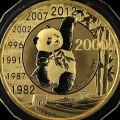 30周年熊猫金币市价  2012年熊猫发行30周年5盎司金币真品鉴赏