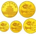 1982年熊猫金银币套装价格 金币4枚套装最新价格