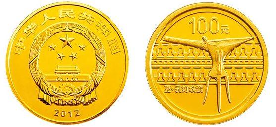 中国青铜器金银币第一组1/4盎司金币 最新价格