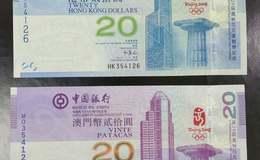 香港澳门奥运纪念钞的投资价值有哪些?值得入手收藏吗?