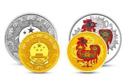 2017年生肖鸡彩色金银币套装价值多少?有收藏价值吗?