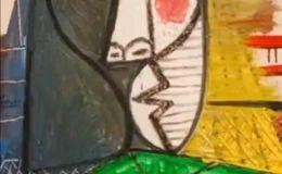 毕加索名画《女子半身像》被撕,价值1.8亿元!