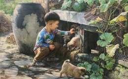朝鲜油画作品欣赏,朝鲜油画作品图片赏析