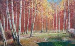 朝鲜油画风景作品欣赏,朝鲜油画风景作品图片赏析